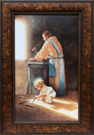 Anonymous Artist Destiny Art Prints Of Jesus Holding