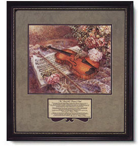 Violin art the touch of the master s hand christ centered art