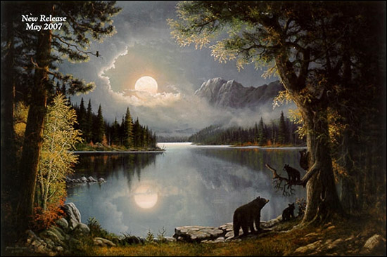 Jesse Barnes On Mirror Lake Paper And Canvas Art