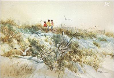 Summit Mall Stores >> Carolyn Blish - Dune Sweep - Christ-Centered Art