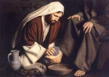 Simon Dewey In Humility Christ Centered Art