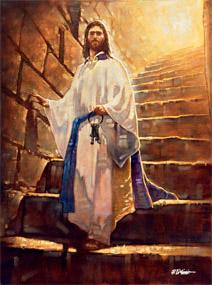 Ron Dicianni He Holds The Keys Christ Centered Art