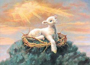 William Hallmark Behold The Lamb Christ Centered Art