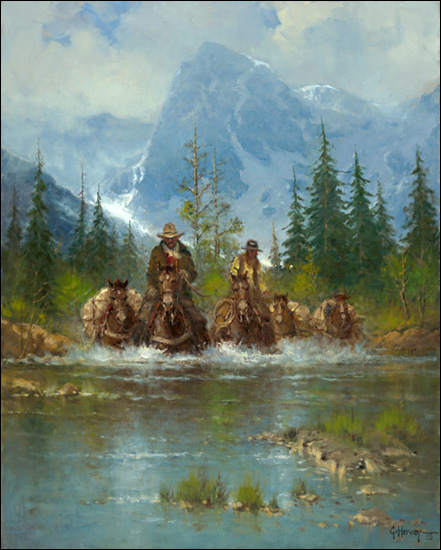 Guaranteed Issue Life Insurance >> G. Harvey - Land of the Tetons - Canvas Art Prints by G Harvey