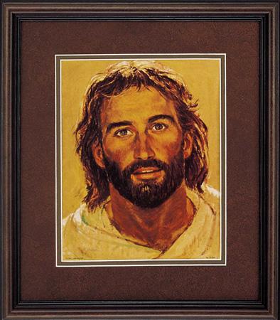Richard Hook Head Of Christ Surfer Jesus Paper And