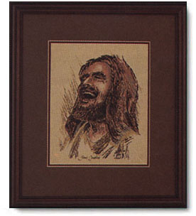 Ralph Kozak Laughing Jesus Christ Centered Art