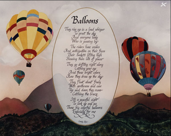 Ballad Poems About Balloons 12