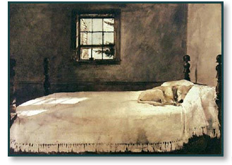 Look Title Artist Year Of Release Master Bedroom Andrew Wyeth N A